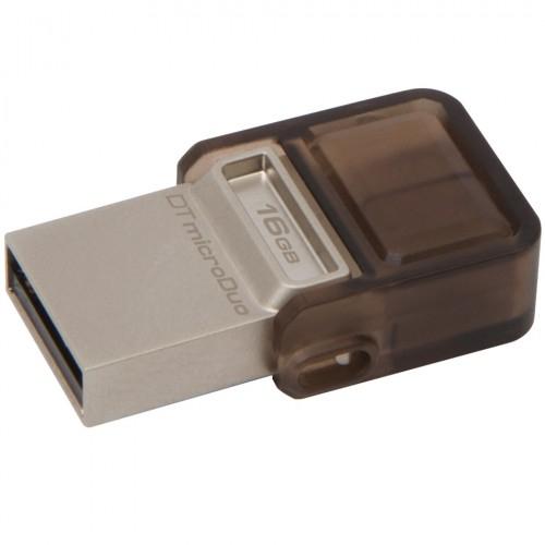 Stick usb Flash Drive DataTraveler microDuo 16GB, USB 2.0 & microUSB – USB OTG,