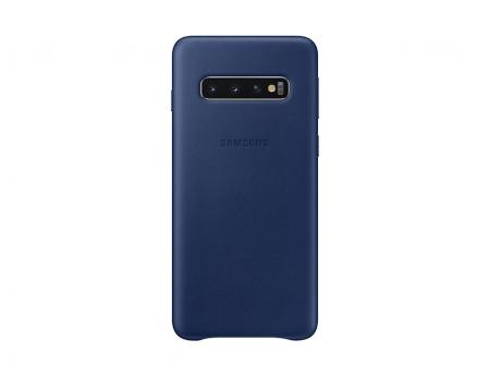 Husa Piele pentru Samsung Galaxy S10 G973f, Navy
