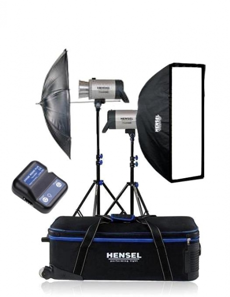Hensel Integra plus 500Ws FM10 kit blitz-uri