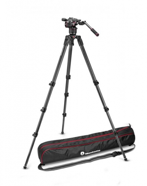 Manfrotto Kit video complet Nitrotech N8 Carbon