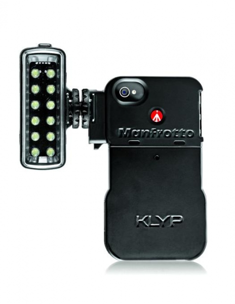 Manfrotto Carcasa iPhone 4/4S cu LED