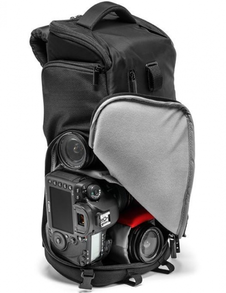 Manfrotto Tri Backpack Small - Rucsac foto, open box