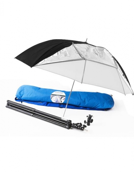 Lastolite LL LU2474F Kit umbrela cu stativ si husa 100cm