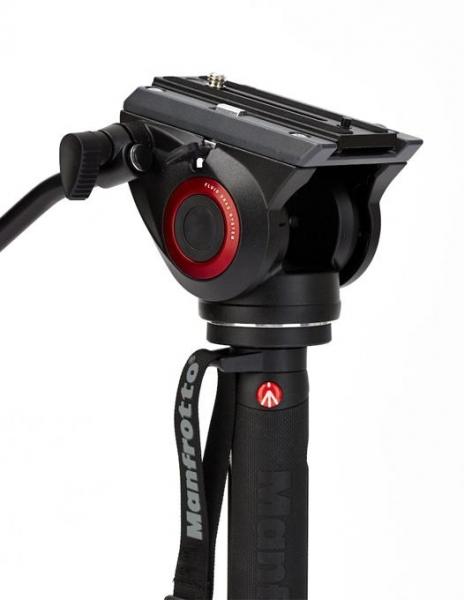 Manfrotto MVMXPRO500 monopied video cu baza Fluidtech