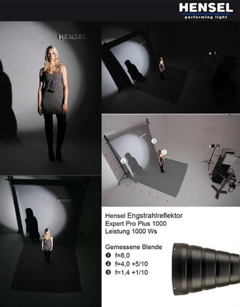 Hensel reflector Narrow Angle 92