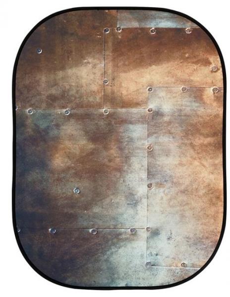 Lastolite fundal pliabil Corrugated/Metal 1.5 x 2.1m