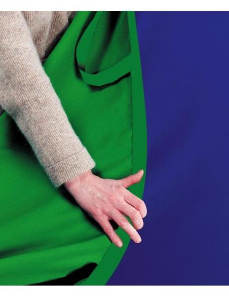 Lastolite fundal pliabil Croma Green/Blue 1.8 x 2.1m