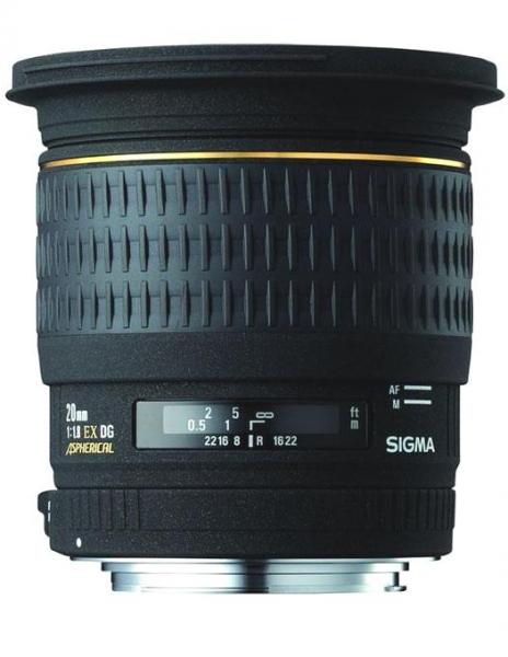 Sigma 20mm F1,8 EX Aspheric DG-Canon