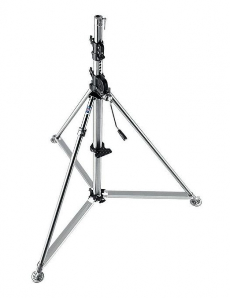 Manfrotto Stainless Steel Super Wind Up Stand 387XU