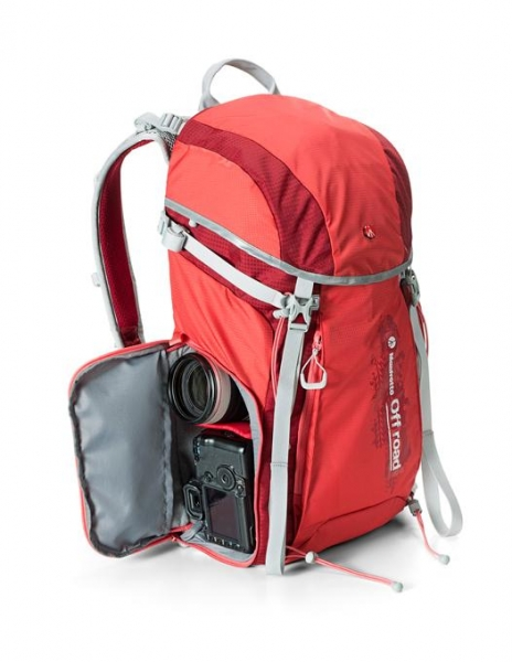 Manfrotto Off Road Hiker 30L rucsac rosu - Open box
