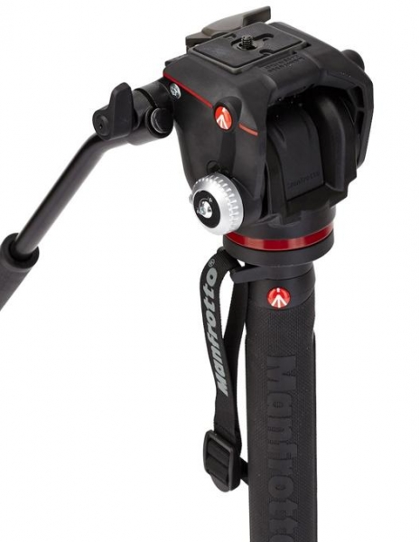 Manfrotto Monopied video fluid cu cap dedicat Mirrorless