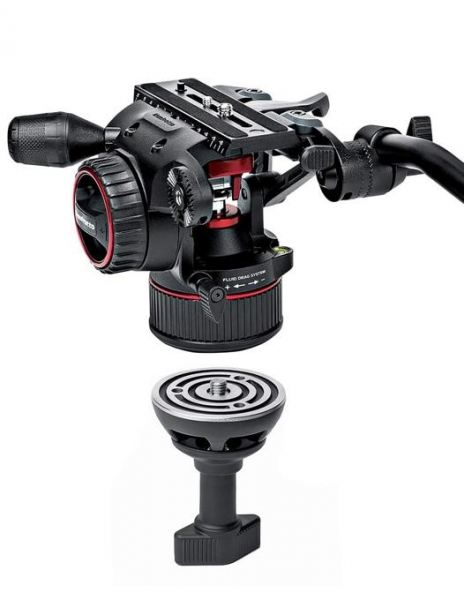 Manfrotto MVKN8C Nitrotech 8 kit trepied video carbon