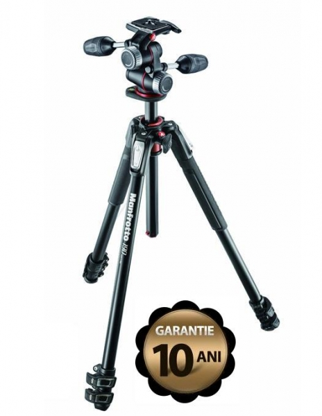 Manfrotto 190XPRO3-3W Kit trepied foto