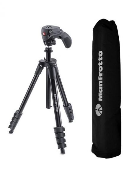 Manfrotto Action trepied cu cap foto-video hibrid