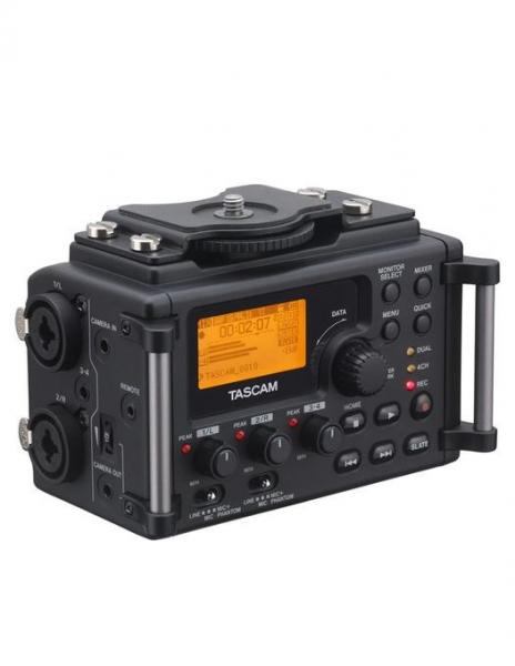Tascam DR-60D MKll Recorder audio pentru DSLR