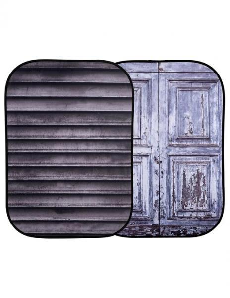 Lastolite fundal pliabil Shutter/Distressed Door 1.5 x 2.1m
