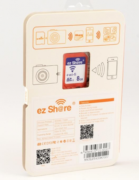 EzShare Card Wi-Fi 8Gb