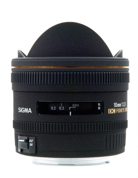 Sigma 10mm f/2.8 EX DC Fisheye-Canon