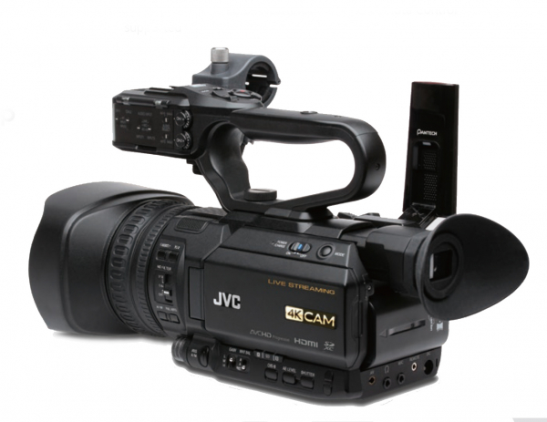 JVC GY-HM250E camera video 4K Live Streaming