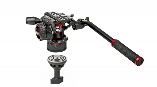 Manfrotto MVKN8TWINGC Nitrotech N8 kit trepied video