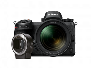 Kit Nikon Z6 Mirrorless 24.5MP + FTZ + Obiectiv Nikkor Z 24-70mm