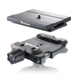 Manfrotto Q6 Top Lock quick release adaptor complet cu placuta