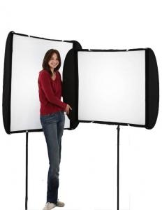 Lastolite Softbox Ezybox II ajustabil 117x44cm la 117x90cm