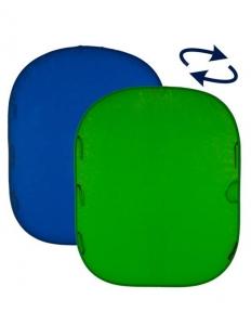 Lastolite fundal pliabil Croma Green/Blue 1.5 x 1.8m