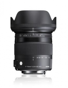 Sigma 17-70mm F2.8-4 DC Macro OS HSM Contemp. Nikon - Open Box