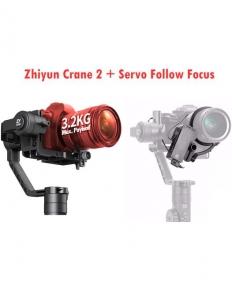 Zhiyun Crane 2 Stabilizator Gimbal pentru 3.2kg si Servo Follow Focus mecanic