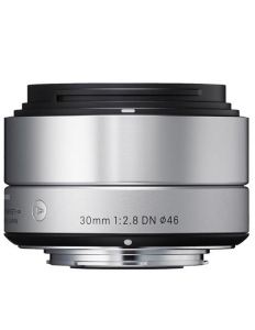 Sigma 30mm f/2.8 DN Art Argintiu Sony E
