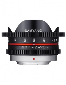 Pachet Samyang 7.5mm T3.8 MFT VDSLR + Boya BY-MM1 Microfon unidirectional