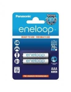 Panasonic Acumulatori Eneloop 2xAAA 750mAh