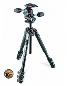Manfrotto 190XPRO4-3W Kit trepied foto