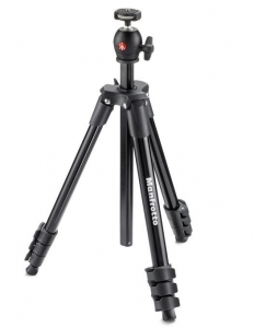 Manfrotto BK Compact Light kit trepied complet cu cap si husa