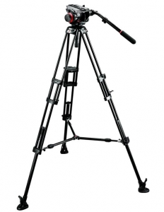 Manfrotto kit trepied video 504HD,546BK