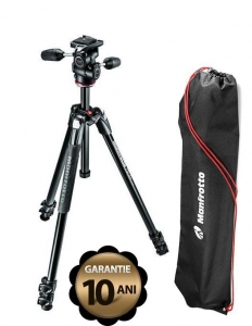 Manfrotto Kit Trepied 290 XTRA, cu cap 3Way si husa