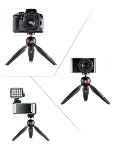 Manfrotto Pixi mini trepied foto Negru