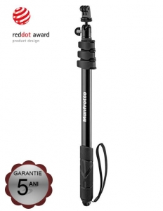 Manfrotto Compact Xtreme Monopied si Selfie Stick