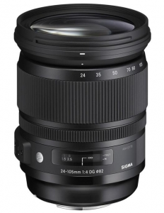 Pachet Sigma 24-105mm F4 DG OS HSM Art - Canon + Manfrotto Kit Trepied 290 XTRA, cu cap 3Way si husa