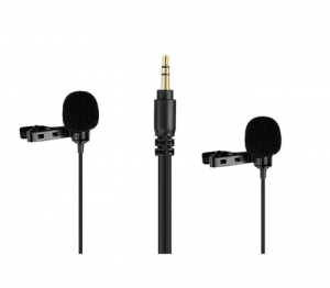 Boya BY-LM300 microfon lavaliera dubla