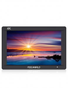 FeelWorld Monitor 7 Inch IPS 1920x1200 4K SDI/HDMI Input Output Carcasa Aluminiu
