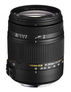 Sigma 18-250mm F3.5-6.3 DC MACRO OS HSM Canon