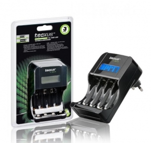 Tecxus TC 1000 LCD AA/AAA Incarcator inteligent
