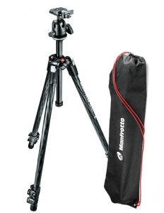 Manfrotto 290 XTRA Kit trepied carbon