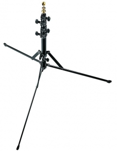Pachet Manfrotto Mini Stand 5001B + Lastolite Tilt Head Shoe suport umbrela cu patina blitz