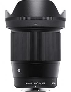 Sigma 16mm F1.4 DC DN MFT Contemporary