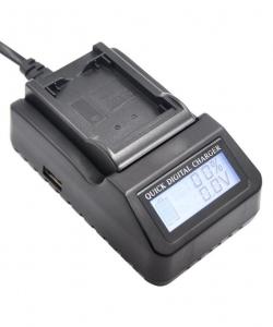 Digital Power LP-E10 incarcator rapid cu LCD pentru Canon