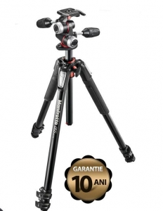 Manfrotto 055XPRO3-3W kit trepied foto