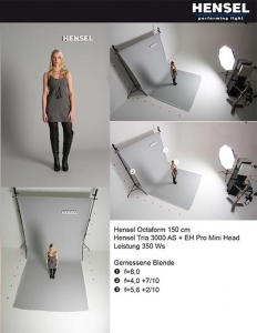Hensel 4000150 softbox octaform 150 cm